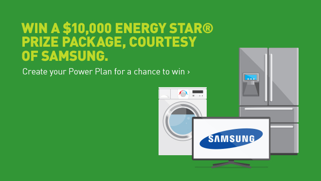 Power Smart Month: Win a $10 000 Energy Star prize package, courtesy of Samsung
