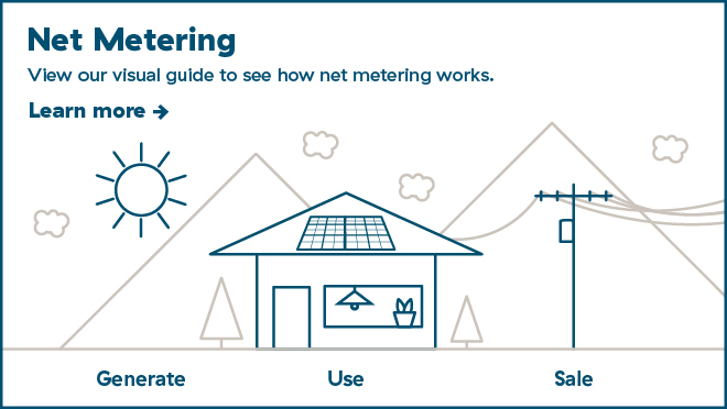 Net Metering visual guide