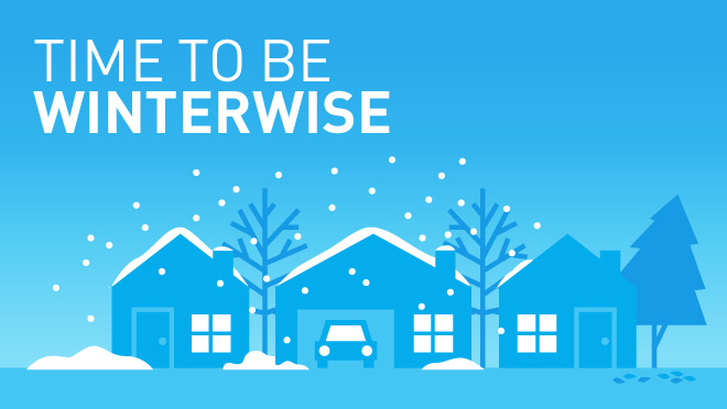 Time to be Winterwise illustration