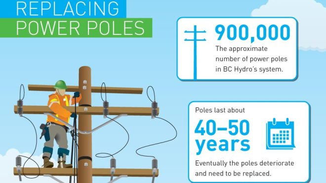 Pole Replacement Process Infographic