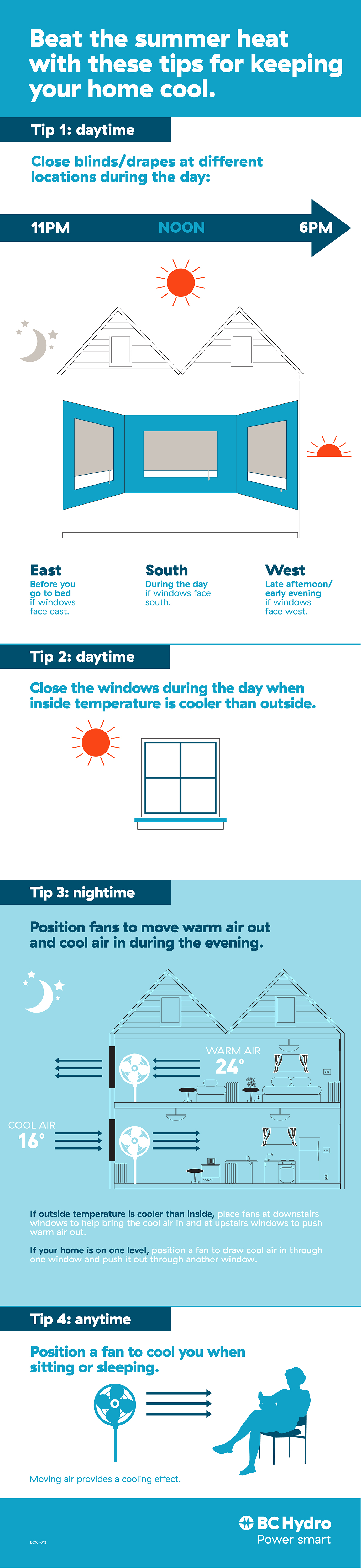DC16-012 SummerHomeCooling Infographic
