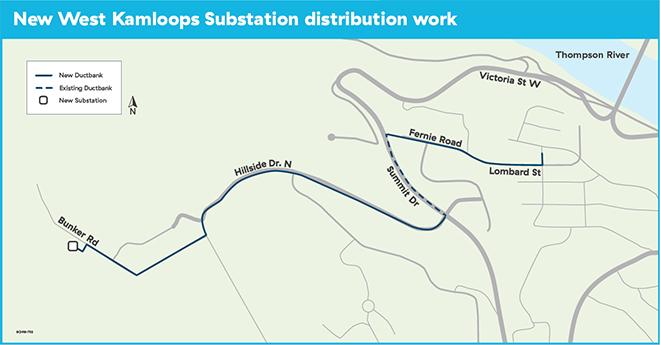 West Kamloops Substation