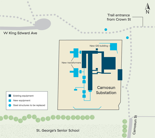 Camosun Substation Upgrade Project
