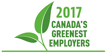 Canada's greenest employer 2017