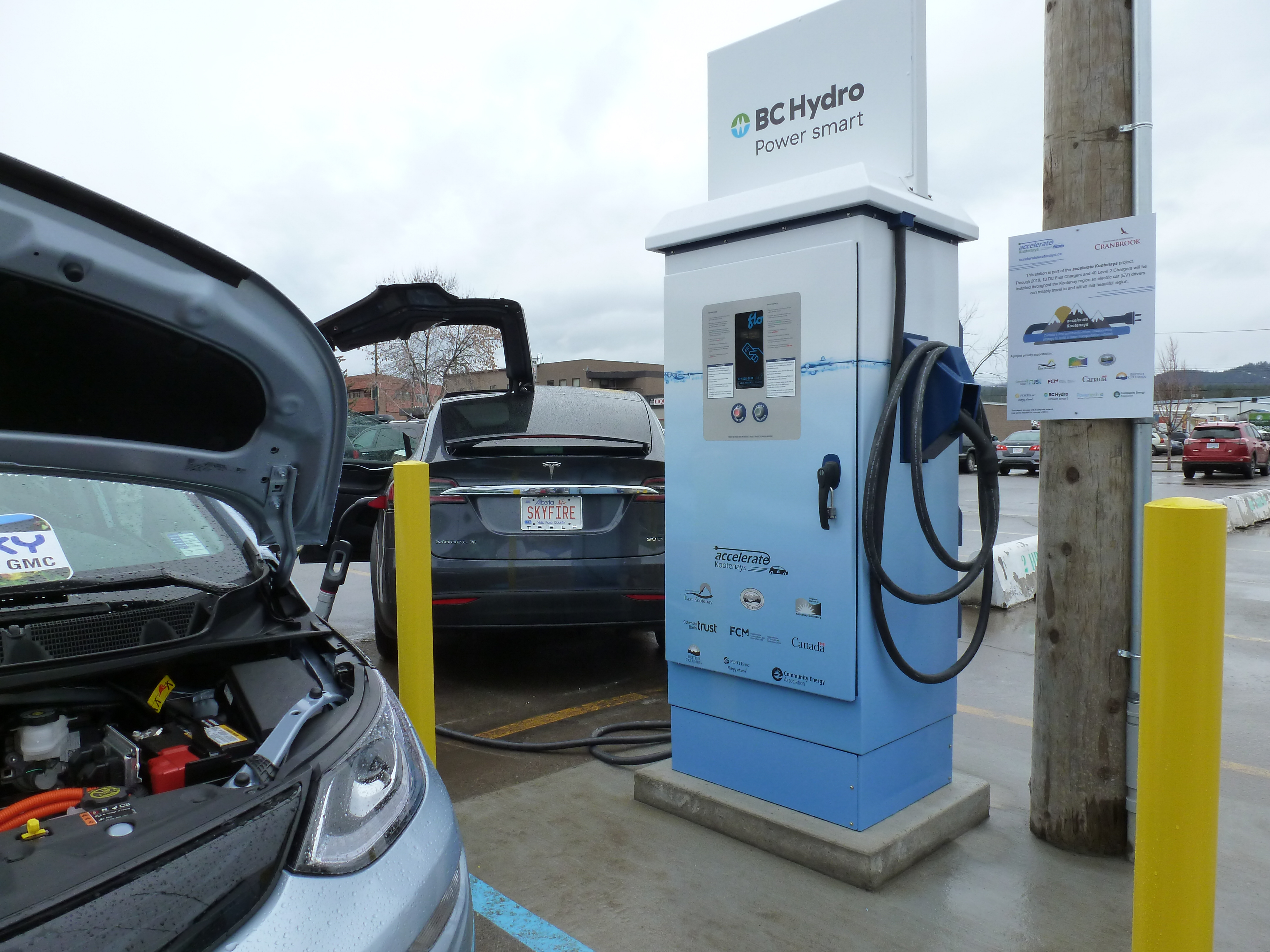 BC Hydro adds fast charging stations to its network