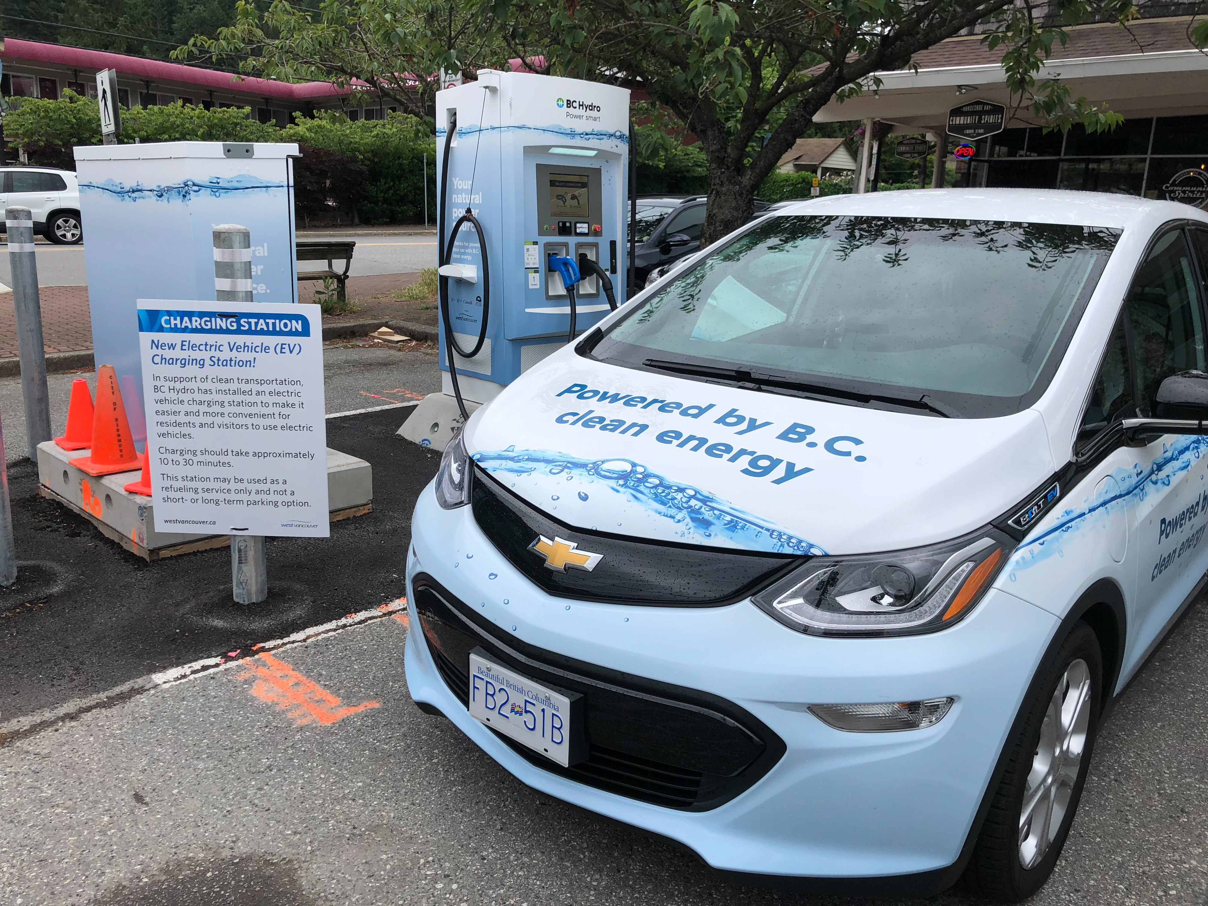 BC Hydro adds fast charging stations to its network, connecting B C