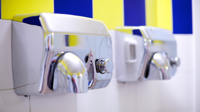 Image of hand dryers