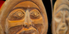 First Nations carving