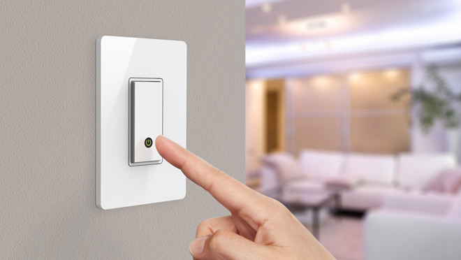 Image of Belkin WeMo wireless light switch