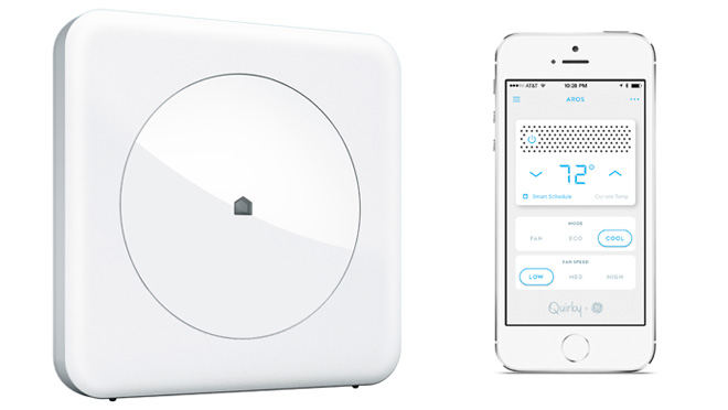 Image of Wink Hub and smartphone app