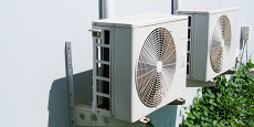 Photo of heat pumps