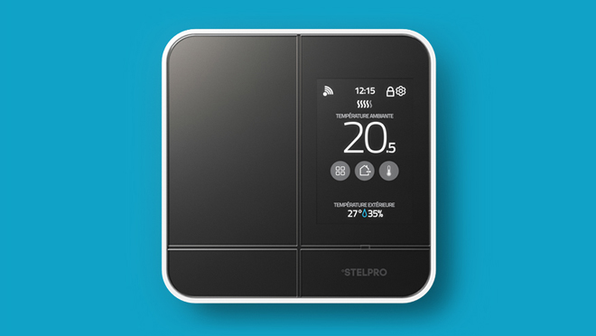 Image of a Stelpro Maestro thermostat