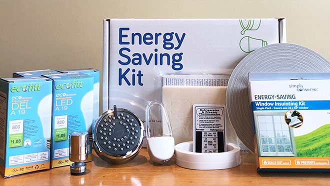 Image of a BC Hydro Energy Saving Kit