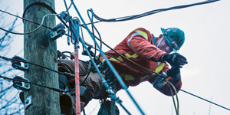 BC Hydro Power Line Technician