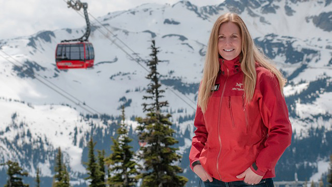 Image of Allana Williams, Whister Blackcomb