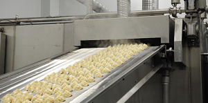 Image of the production line at Fine Choice Foods