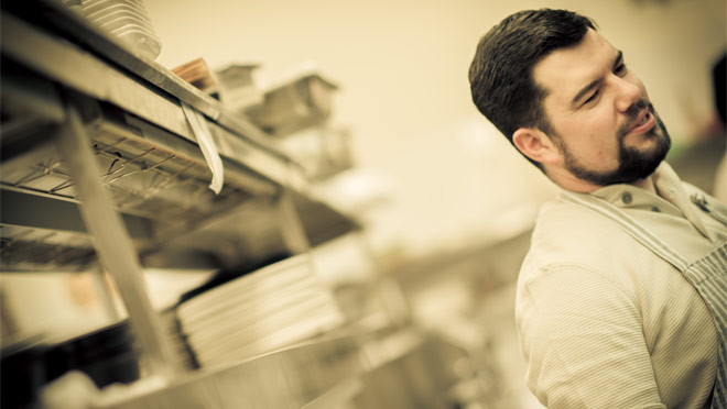 Forage executive chef, Chris Whittaker