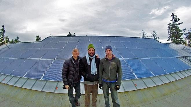 Salt Spring S Solar High Gets Power And A Scholarship