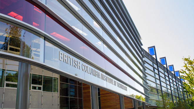 Image of the exterior of BCIT