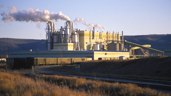 Image of Canfor Taylor pulp mill