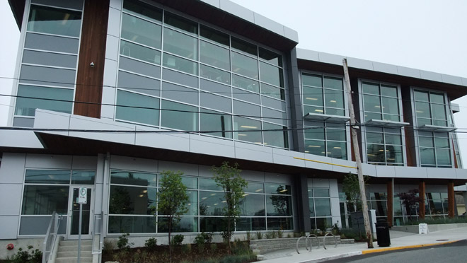 Image of the City of Nanaimo's City Hall Annex building