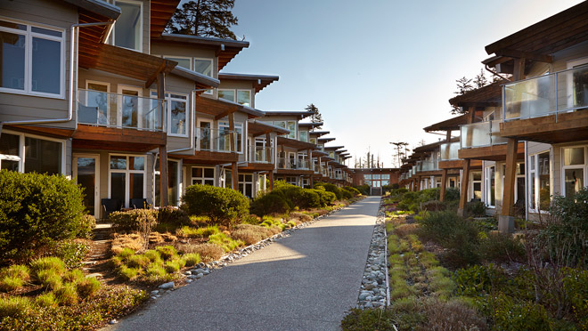 Image of Cox Bay Beach Resort in Tofino, B.C.