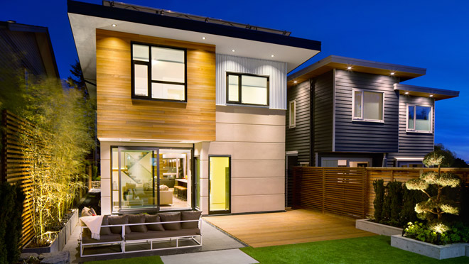 Image of home built by Naikoon Contracting