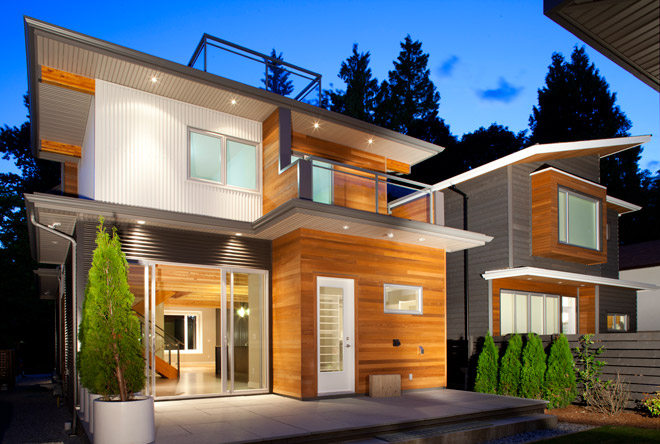 Image of North Vancouver home by Naikoon Contracting Ltd.