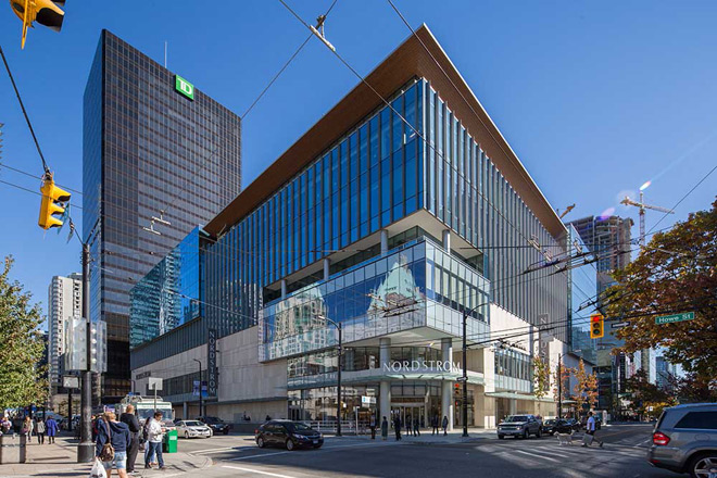 Originally Built In 1973 Vancouver Retail Building Gets