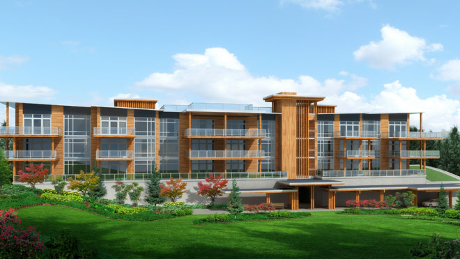 Image of rendering of Solana, Whistler, B.C.