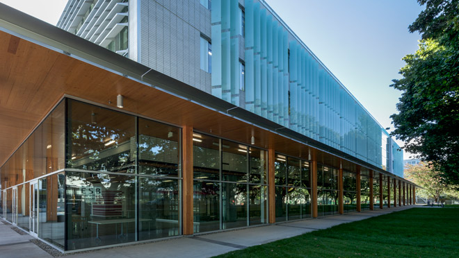 Image of UBC Earth Sciences building