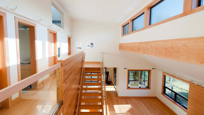 Image of open and brightly lit home interior