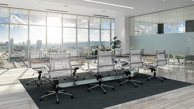 Image of an office space in the Stratus tower