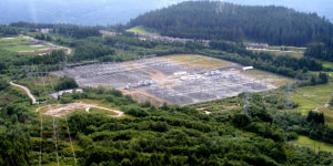 The Interior to Lower Mainland (ILM) Transmission Project Meridian Substation in Coquitlam