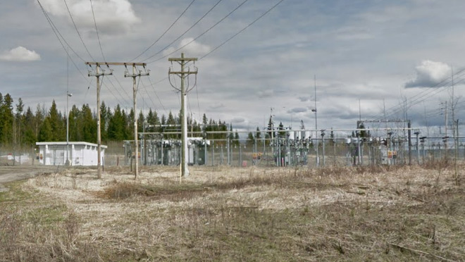 Image of the Pineview substation