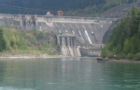 Revelstoke Dam from downstream