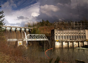 Ruskin Dam powerhouse
