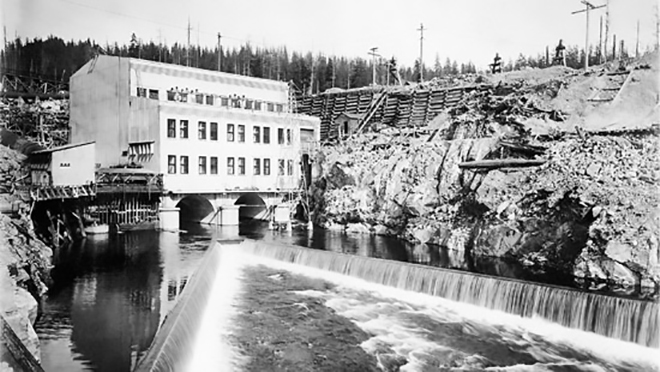 The Powerhouse at Stave Falls