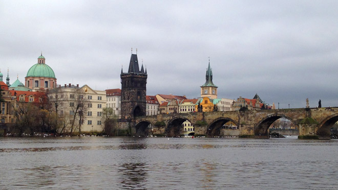Image of the Charles Bridge in Prague