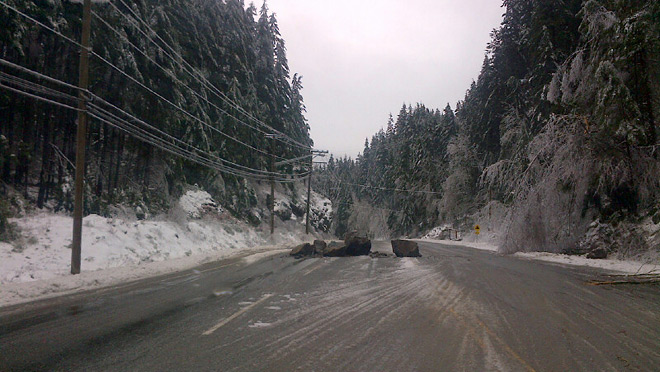 Bc Hydro Employee Digs Out From Storm Of A Lifetime In
