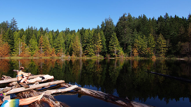 Image of West Vancouver's Whyte Lake