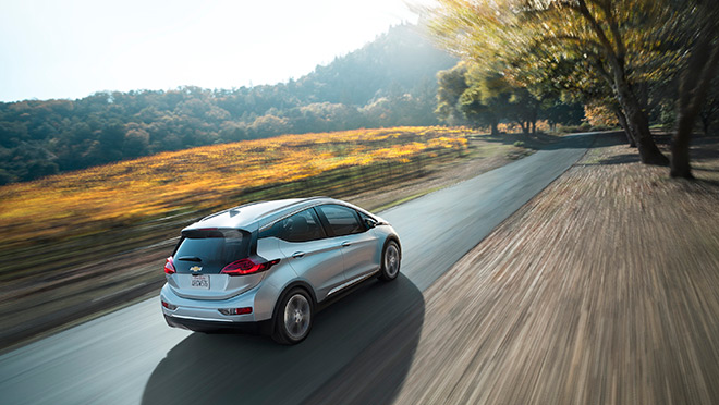 Image of the 2017 Chevrolet Bolt EV, © General Motors