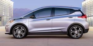 Chevy Bolt electric vehicle 2017 model