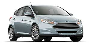 2014 Ford Focus Electric in studio