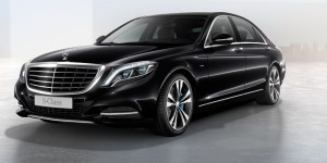 Thumbnail of 2016 Mercedes-Benz S5503 electric car