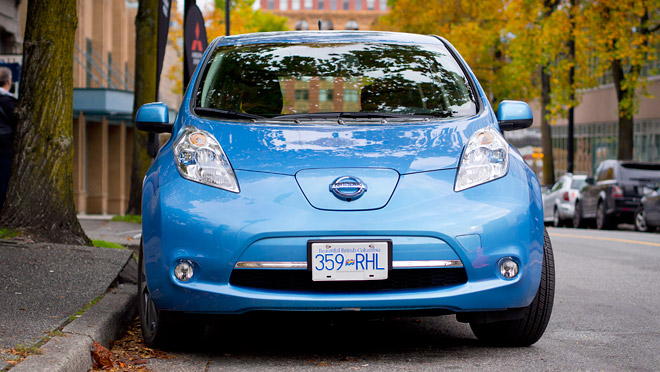 Image of Nissan Leaf EV