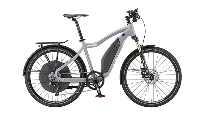 Image of an Ohm electric bicycle