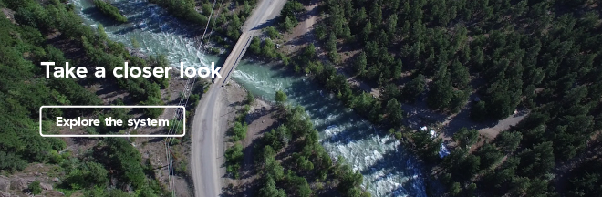 Image of the Gun Creek campground
