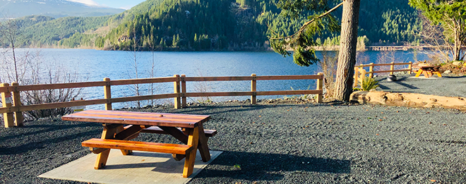Upper Campbell River campground