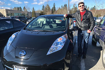 Family opts for electric car
